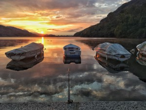 Alba - Lago di Mergozzo - Foto di Luca Tallini